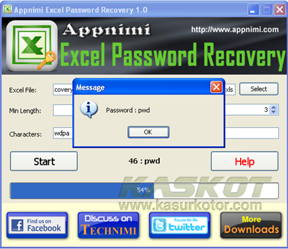 Melihat dan Mengembalikan Password Dokumen MS Office Excel