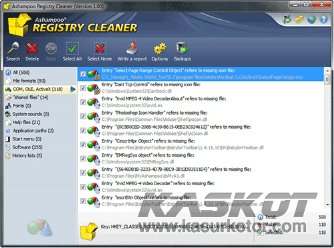 Download Ashampoo Registry Cleaner Full Version + Serial Gratis