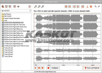 Software Pembuat Ringtones - AVS Ringtone Maker