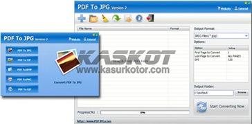 Convert File Pdf ke Format Gambar JPG, TIF, BMP, PNG dan GIF