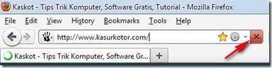 Memisahkan Tombol Stop dan Reload di Firefox 4