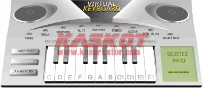 Aplikasi Piano/Keyboard Online