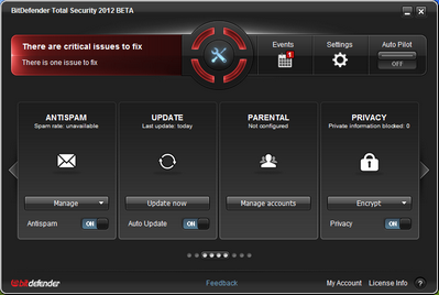 Download BitDefender Total Security 2012 Beta