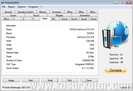 Aplikasi Portable untuk Menampilkan Informasi Sistem Komputer - SimpleSysInfo