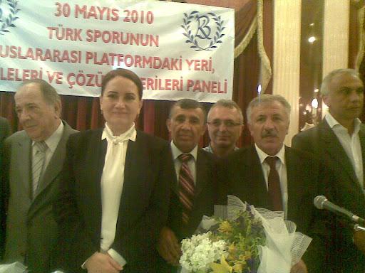 Türk Sporunun Uluslararası Platformdaki Yeri, Meseleleri ve Çözüm Önerileri konulu panel, İstanbul'da yapıldı. ( 30.05.2010 )