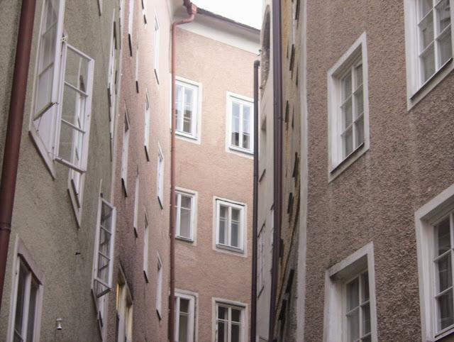 Windows views in Salzburg