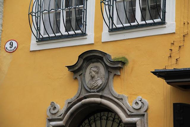 Birthplace of Mozart, Getreidegasse 9, Salzburg