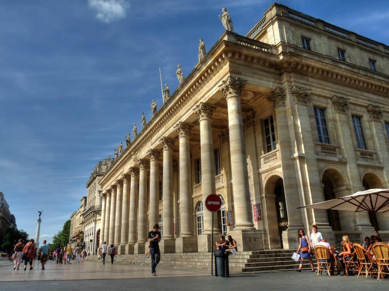 Grand Théatre et Bordeaux Theatre