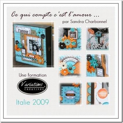Ce qui compte ... Sandra Charbonnel