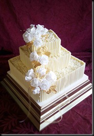 3-tier-chocolate-curl-and-sugar-roses