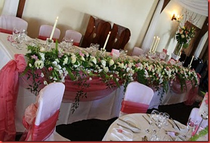 flowers design Great Hall mains