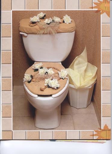 Украшаем туалет своими руками