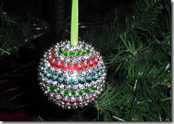 Sequin Ornament 2