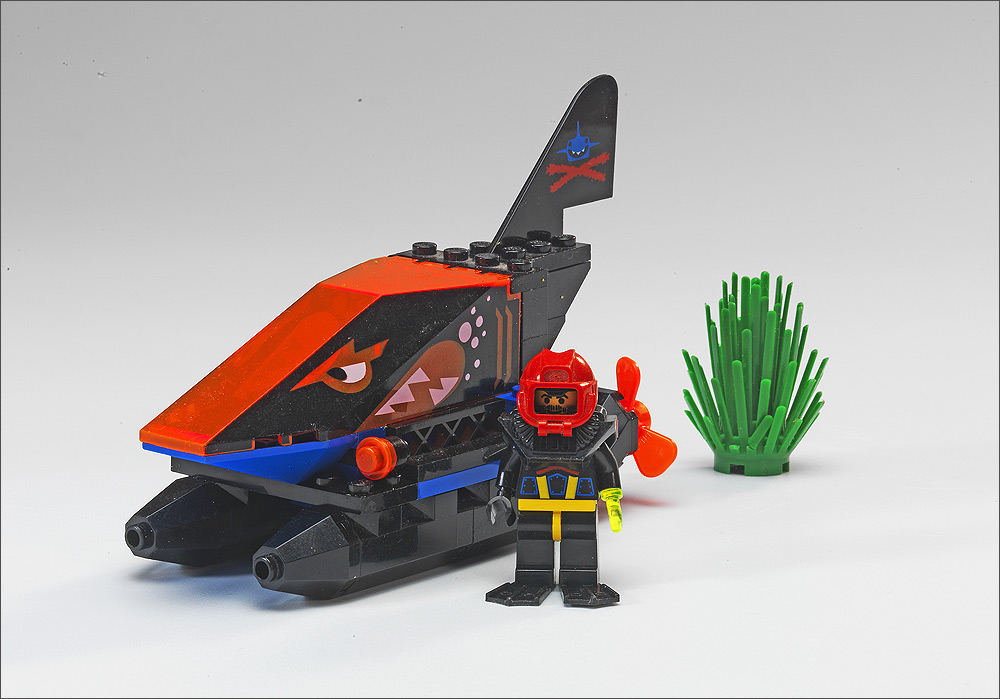 Lego Shark Toys : Bricker construction toy by lego spy shark