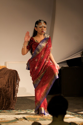 Mynx as Lakshmi