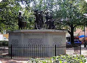 franklin..statue