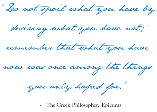 quote epicurus