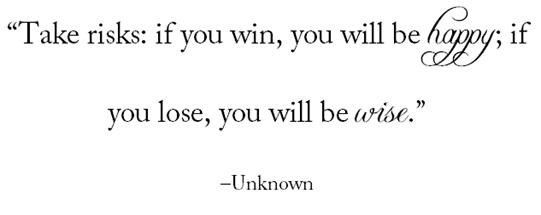 risks quote