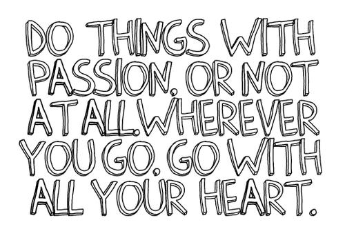 quote passion