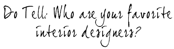 do tell designers