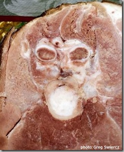 Ham face