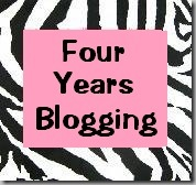 Four years blogging