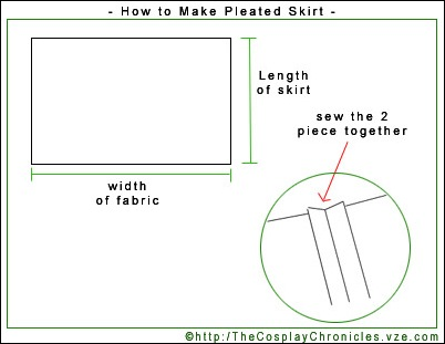 pleated skirt 01