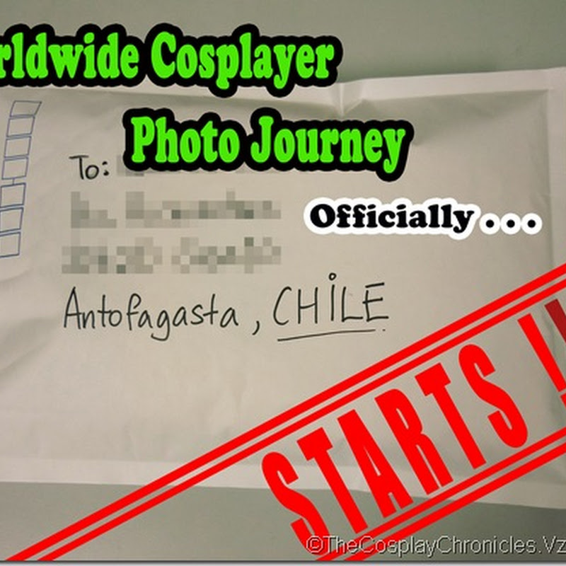 Worldwide Cosplayer photo journey: KICKSTART!!!!