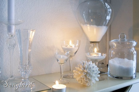 White winter decoration