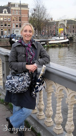 Me on Amsterdam bridge