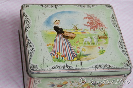 Vintage Dutch Tin