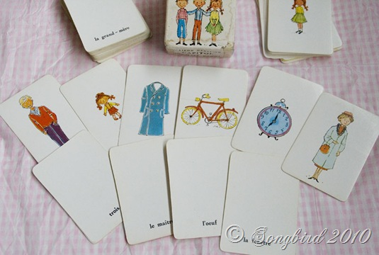French Learning Cards