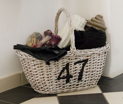 Basket with number2