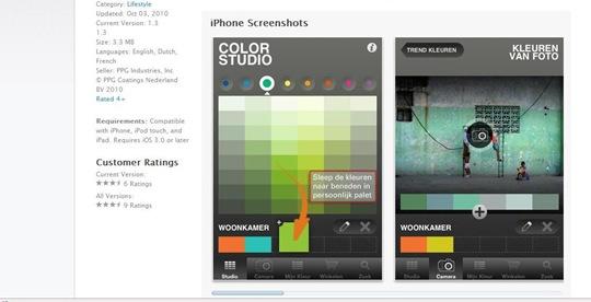 Histor color studio app