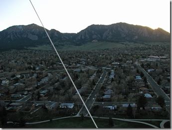 First Tethered Balloon Flight with Remote Gimbaled Camera System