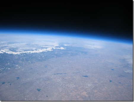 St Patrick's Day High Altitude Balloon