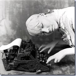maquina de escribir triste