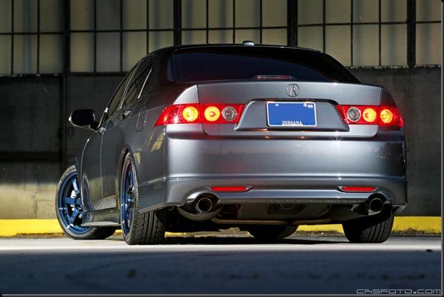 Accord Acura Volks TE37 back