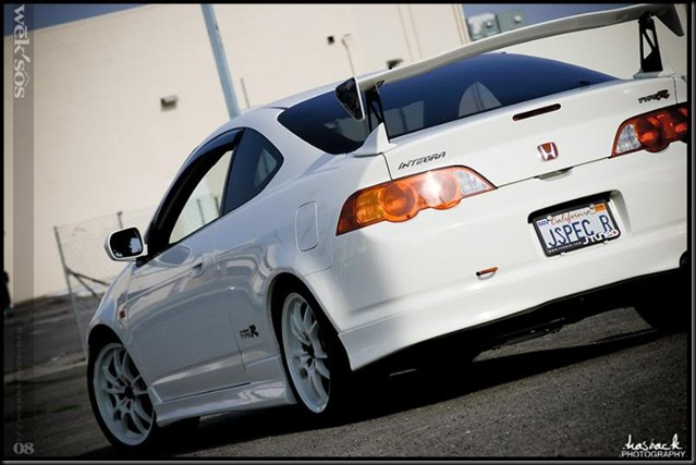 White DC5 back