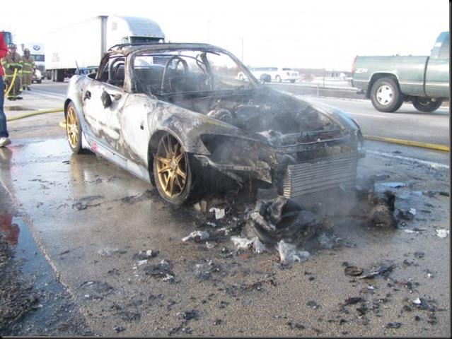 s2000 burning