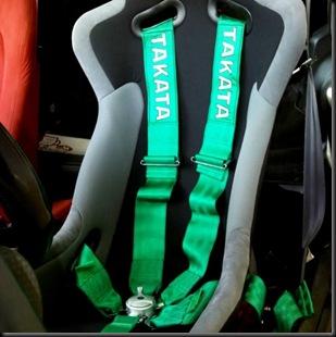 Mugen seat Takata belt