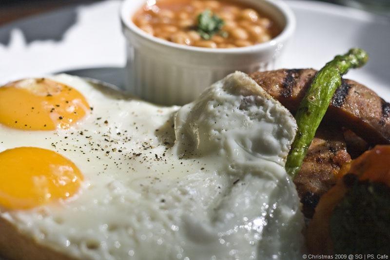PS. BIG Bacon $ Eggs @ SGD$23