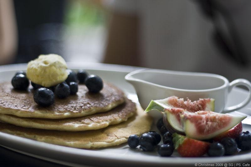 Blueberry Pancake @ SGD$22