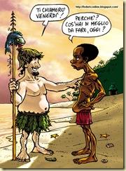 Robinson Crusoe e Venerdì