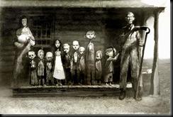 familia numerosa comienzos de siglo