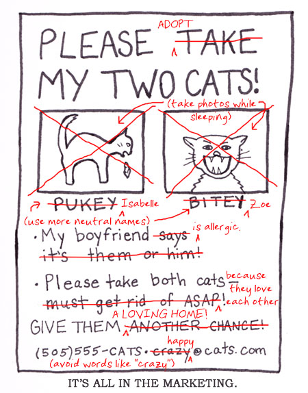 Please adopt Pukey and Bitey ... Er, what are they called again?
