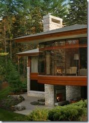 Contemporary Direct Set Wood Window