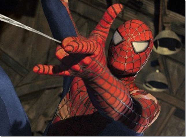 Hopefully the new Spider-Man costume won't ride up in the crotch
