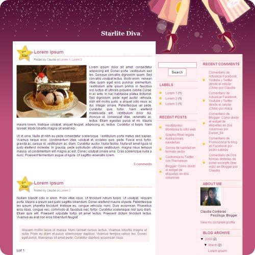 starlite-diva-blogger-template