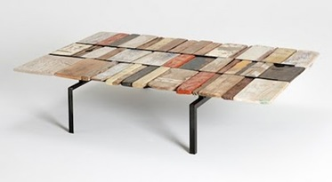 Flotsum & Jetsam table, Marcus o´reilly architects